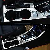 Odster Car Styling-Konsole Schaltknauf Dekor-Streifen-Wasser-Schalen-Halter-Abdeckung Trim-Aufkleber...