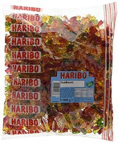 Haribo Teddy Bears Bulk Bag 3 Kg