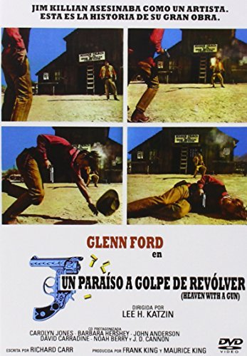 Heaven With A Gun (1969) - Region Free PAL, plays in English without subtitles by Glenn Ford