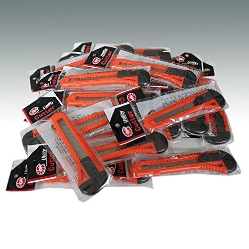 Preisvergleich Produktbild 18mm Cuttermesser Teppichmesser Abbrechmesser Allzweckmesser Paketmesser mit Abbrechklingen