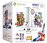 Cheapest Xbox 360 S Console Bundle With 4GB Memory + Kinect + Kinect: Adventures! + Kinect: Sports + Xbox Live 3 Month Gold Membership Card - Special Edition Celebration Pack on Xbox 360
