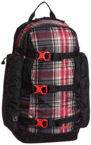 Burton Rucksack Day Hiker Pack - Mochila de snowboarding, color negro / diseño de cuadros, talla 25 l