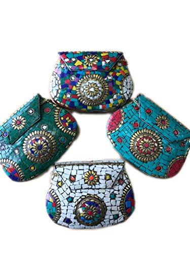 TheArtfulBag - Borsetta senza manici Donna Multicoloured