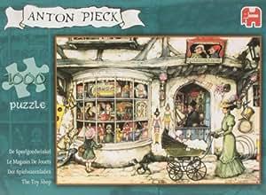 Diset - 13123 - Puzzle - Anton Pieck - Magasin de Jouets - 1000 Pièces