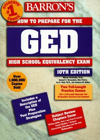 Barron's How to Prepare for the Ged: High School Equivalency Exam (Barron's How to Prepare for the Ged High School Equivalency Exam (Book Only)) by Samuel C. Brownstein (1998-10-01)