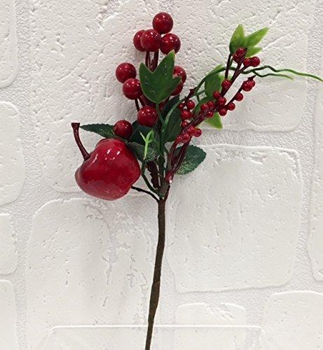 6-pezzi-pick-ramo-con-bacche-rosse-e-frutta-decorazione-albero-natale-fiore-natalizio-di-natale