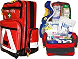 Team Impuls NFA Erste Hilfe Notfallrucksack für Jugendgruppen u. Zeltlager - Plane mit Weißen Reflexstreifen