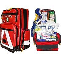 Erste Hilfe Notfallrucksack für Jugendgruppen u. Zeltlager - Plane mit weißen Reflexstreifen preisvergleich bei billige-tabletten.eu