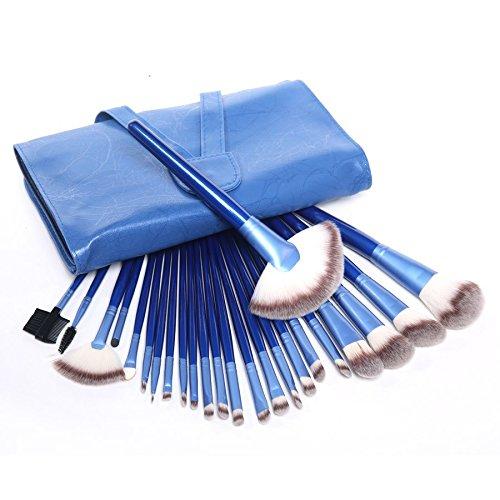 XUAN 24 pinceau de maquillage bleu définie cosmétiques persan laine