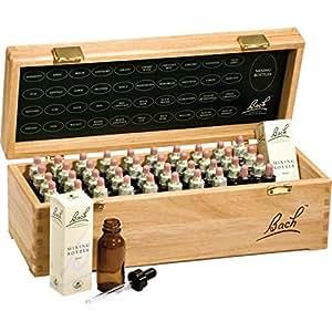 Bach Flower Remedies Set, wooden, 40 x 20 ml, Set Fiori di Bach, Scatola in legno di faggio