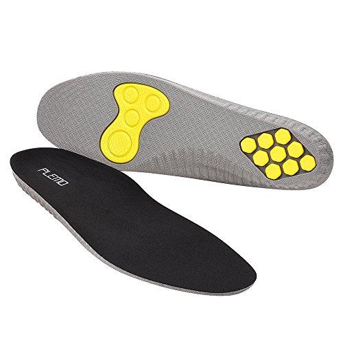 Plemo Plantillas IS-01 Zapatos de Gel Amortiguadoras, Cómodas, Antibacteriana y Flexibles, 1 Par, Talla Única, Tras Recortar Desde el Número 41 al 45