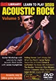 Learn to Play Acoustic Rock 5 [Import anglais]