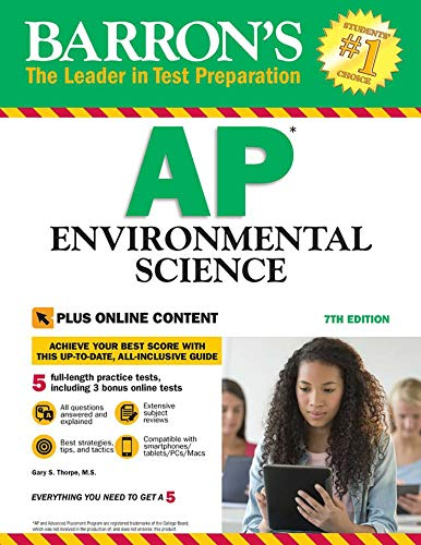 Barron's AP Environmental Science with Online Tests: with Bonus Online Tests