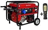 Kraftherz 5KW 1phase Gasoline Generator, rot