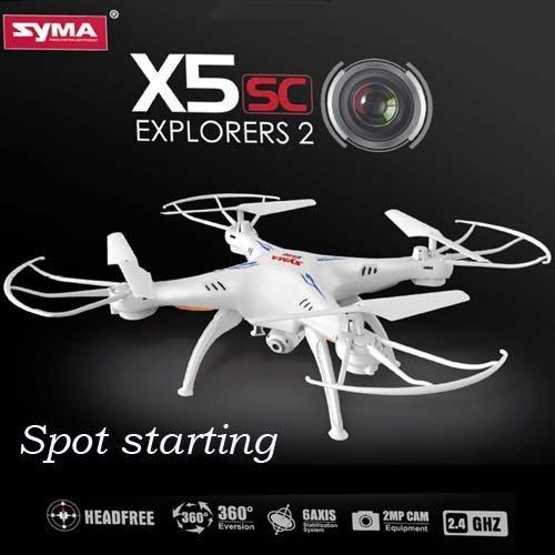 DRONE SYMA X5SC 2 EXPLORER CON CAMERA HD, 6 ASSI//4CH 29033
