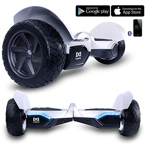 Cool&Fun Hoverboard 8,5' Gyropode Tout-terrain Smart Skateboard...