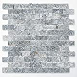 123Mosaic Tiles Mosaic Tiles Mosaic Kitchen Bathroom Toilet Living Area Tiles Square Marble Matt 12 mm #K575