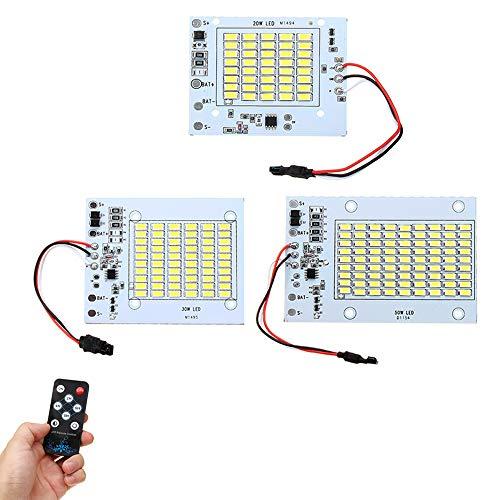 8ec7b318f2e HTAIYN DC3.7V 20W 30W 50W LED Control Remoto DIY Fuente de luz Blanca Chip