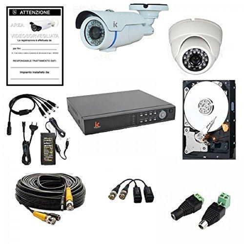 Talinfo-Kit-de-videovigilancia-4-canales-960-h-2-cmaras-HD-serie-Setik-Home