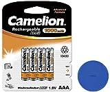 4X Camelion AAA Akku 1000mAh für Telefon Siemens Gigaset E560 E560HX E560A C300 C300A C430A C430H + Online-Sale-Shop Einkaufswagenchip