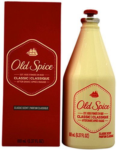 Old Spice 188ml Classic Aftershave Splash, 1er Pack (1 x 188 ml)