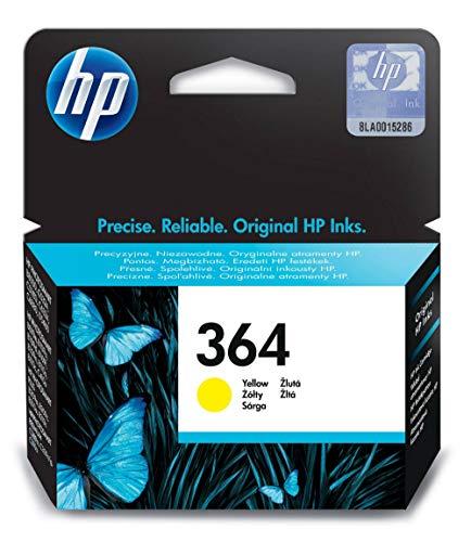 HP 364 Cartouche d'encre d'origine jaune (CB320EE)