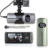 Best inDigi Dvr Cameras - Indigi® Nouveau. 6,9cm bord Double Caméra voiture DVR Review