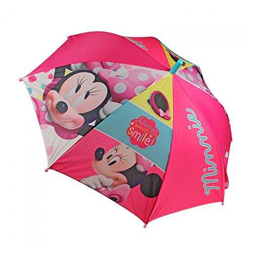 Disney Minnie Mouse pour enfants Parapluie automatique Parapluie filles Minnie Mouse 48cm