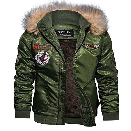 Dylung Männer Tops, Herren Herbst Winter Langarm Zipper Kapuze Jacke Top Bluse Pullover Mantel Coat Hooded Sweatshirt Winterjacke Windjacke Steppjacke Herren