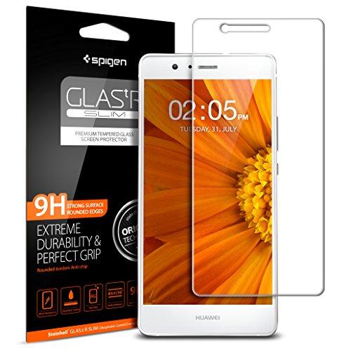 Huawei P9Lite Protection d'écran verre trempé, Spigen® * * Easy Install Kit * * [Verre Ultra résistant] * * Ultra Clear * * Huawei P9Lite Char, Huawei P9Lite Verre de protection l05gl20297