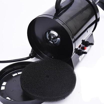 BTM PRIMDAY 2800W Dog Dryer Pet Dog Blaster Fur Grooming Adjust Low Noise Coat Blowdryer Hairdryer High Velocity (Blue) 6