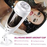 LiuNcunN001 Realistic Shape Personal Stimulating Full Automatic Uomo Cup Sǚcking Electronic Man's Toy Mini Massage Cup Kit da Allenamento per Uomo