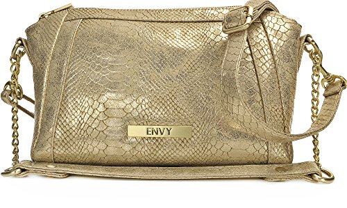 HOUSE OF ENVY, Sac pour femme à porter à l'épaule or Light Gold