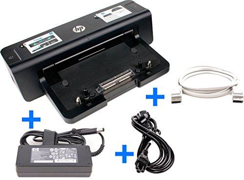 Hewlett Packard Maus Tastatur (HP Docking HSTNN-I11X + HP 90W Netzteil + DisplayPort für Elitebook 8740w, 8760w)