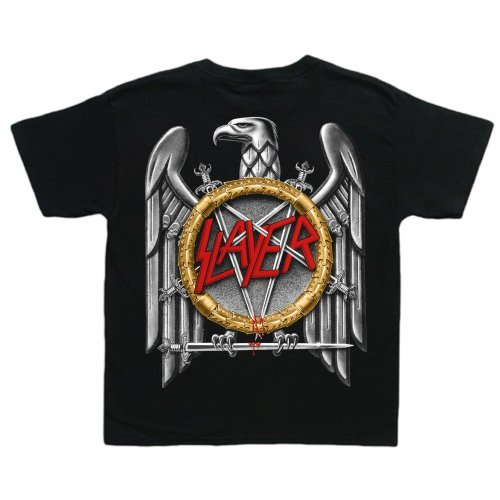 Slayer Unisex Baby Body Eagle, Schwarz, S (Slayer Eagle)