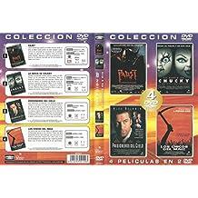 COLECCIÓN 4 PELÍCULAS EN 2 DVD /FAUST / LA NOVIA DE CHUCKY / PRISIONEROS DEL CIELO /LOS CHICOS DEL MAIZ
