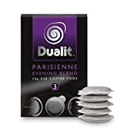 Dualit ESE Coffee Pods : Parisienne Evening Blend pk140