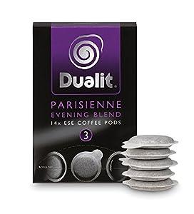 Dualit ESE Coffee Pods : Parisienne Evening Blend pk140