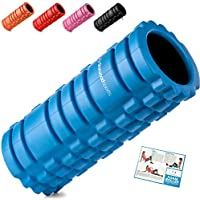 Starwood Sports Foam Roller for Deep Tissue Muscle Massage - Trigger Point Therapy - Myofascial Release - Muscle Roller for Fitness, CrossFit, Yoga & Pilates