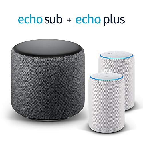Echo Plus Stereo System – 2 Echo Plus (2.ª generación),...