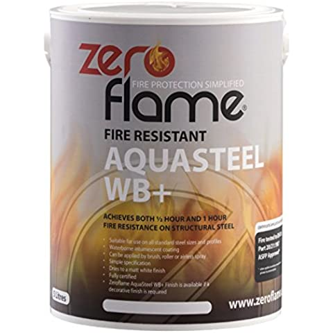 Zero Flame aquasteel WB + ZFP400052Fire rivestimento