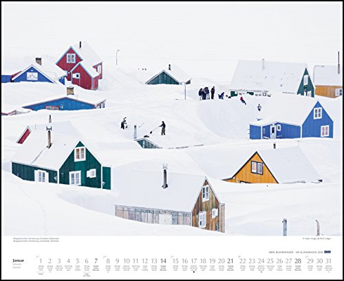 Mein Skandinavien 2018 – Wandkalender 52 x 42,5 cm – Spiralbindung: Alle Infos bei Amazon