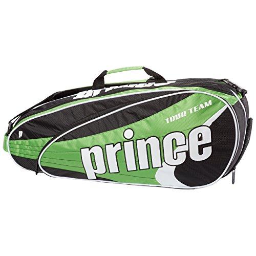Tasche Racchette Prince Tour Team 6Pack, Schlägertaschen Tour Team 6 Pack, verde, Taglia unica