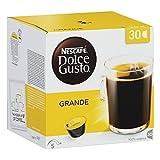 Nescafé Dolce Gusto 30er Box Grande, Kaffee, Cafe mit Crema, Kaffeekapsel, 30 Kapseln