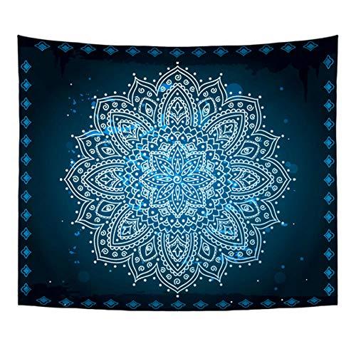 Marokkanische Schlafzimmer Dekor (meaosyy Böhmen Mandala Stil Kurze Plüschtapisserie indische marokkanische Bunte Wandbehang Yoga Matte Strand werfen Handtuch Dekor Schlafzimmer-150x150CM)