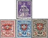Schweiz SDN19z-SDN25z (kompl.Ausg.) 1924 Völkerbund (Briefmarken für Sammler)