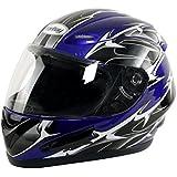 Yorbay Motorradhelm Integralhelm Sturzhelm Helm mit Aufbewahrungstasche mit verschienden Typen & in unterschiedlichen Größen