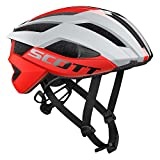 Casco Arx Plus (CE) de Scott, color gris y rojo