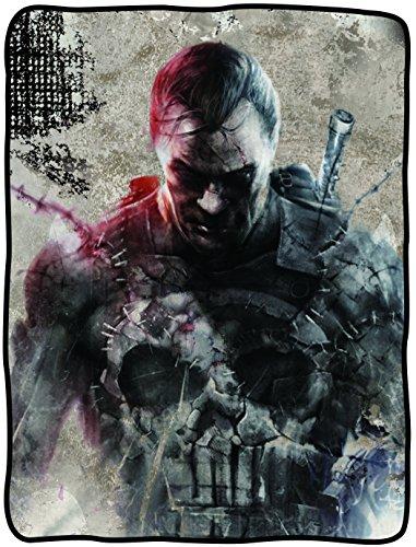 Coperta Marvel Punisher in Battle New Toys 127,00 cm x cm (50 152,40 (60 licenza cfb-me-punish
