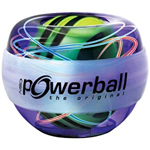 Kernpower Hand- und Armtrainer Powerball The Original Multi-light – mit patentiertem Autostart, blau bluepurple, 069